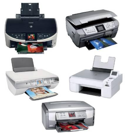 5 impressores a color