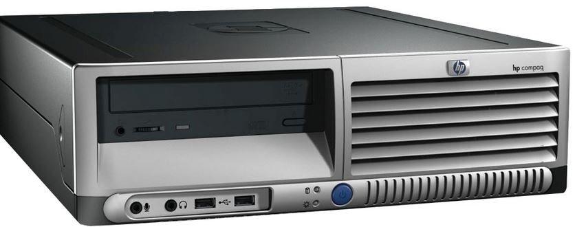 Torre per PC: HP Compaq DC7700 SFF.