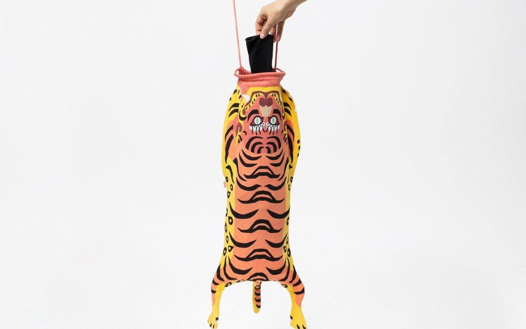 Tiger Travel Laundry Bag
