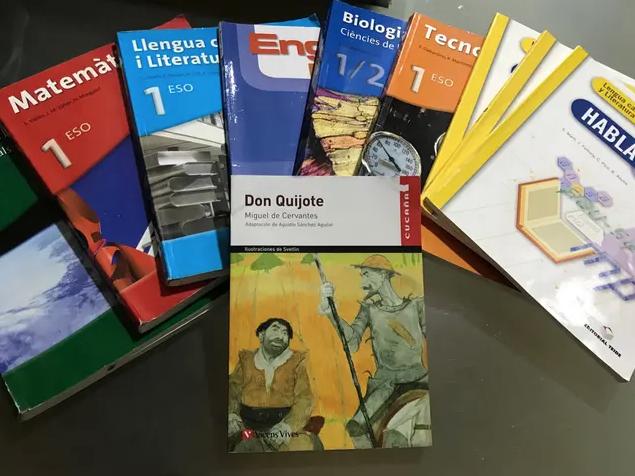 Llibres de text en bon estat