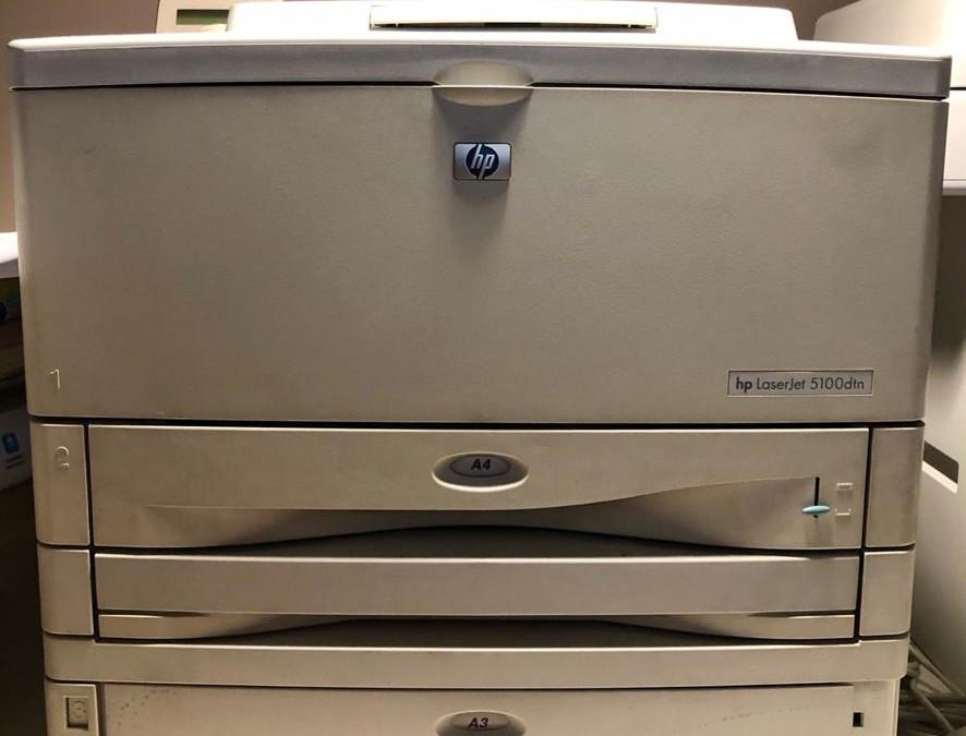 Impresora HP LasertJet5100dtn